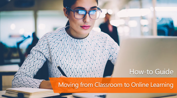 How to move from classroom to online training
