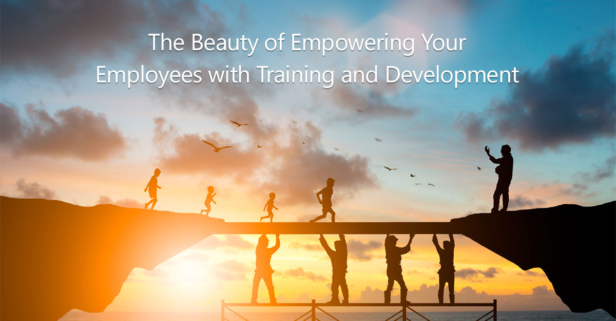 The Beauty of Empowering Your Employees with Training and Development