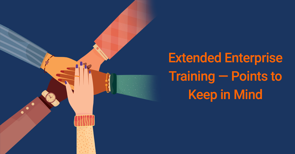 Training Extended Enterprise