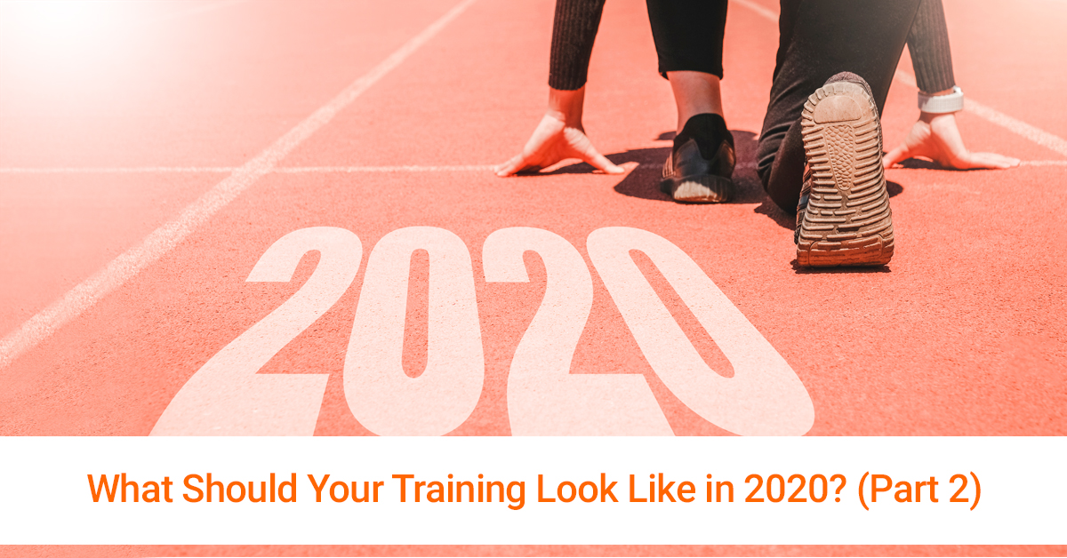Training Plan for 2020